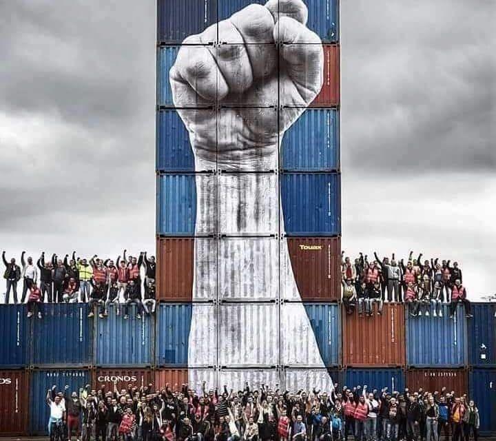 La solidaridad es la ternura de los pueblos. Referéndum en Cataluña.