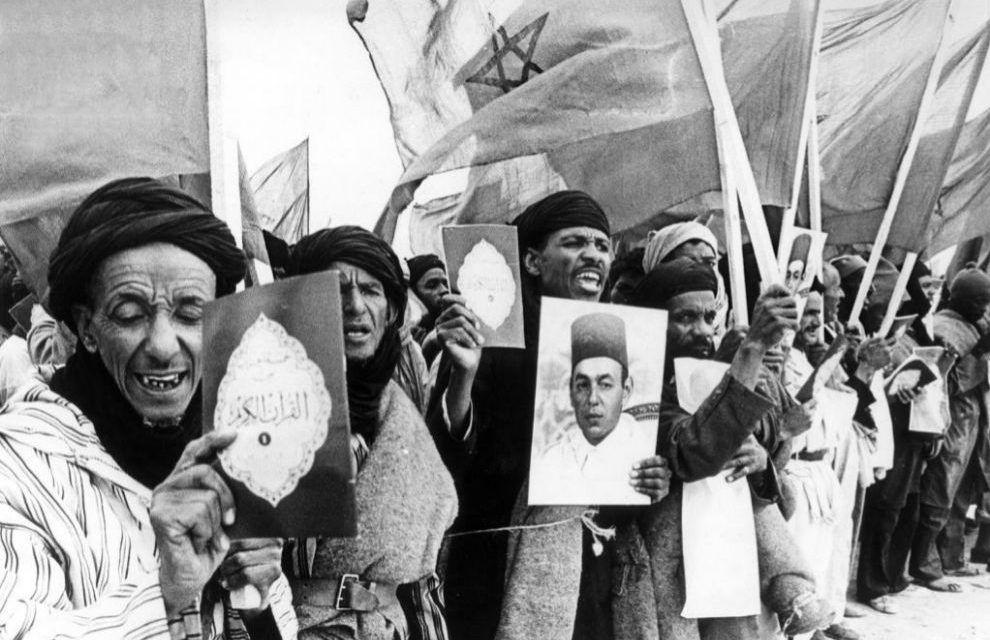 Efemérides. 1975, Inicio de la Marcha Verde. Invasión marroquí del territorio saharaui.