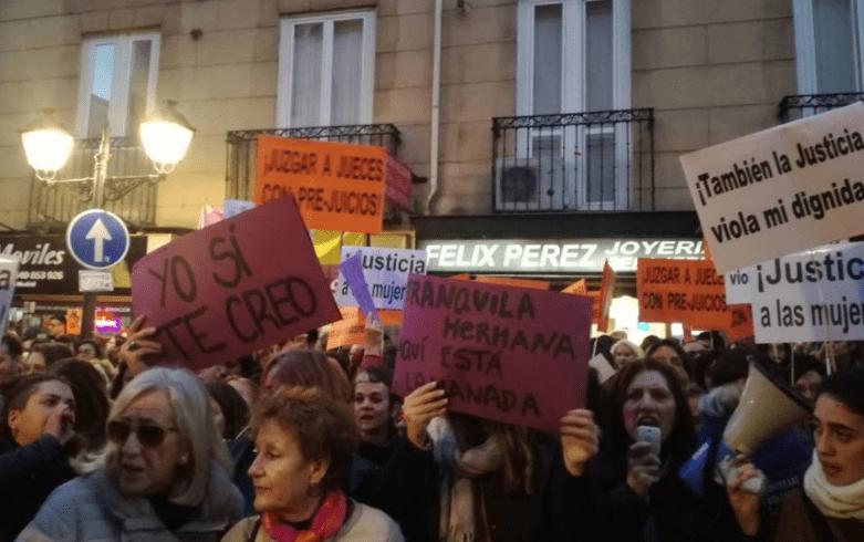 """La Violación y el Estado en el juicio a """"La manada""""."""