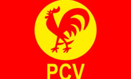 El Partido Comunista de Venezuela (PCV) propone alianza crítica al PSUV.
