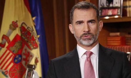 """""""Felicidades, Majestad"""" Felicitación abierta a Felipe VI."""