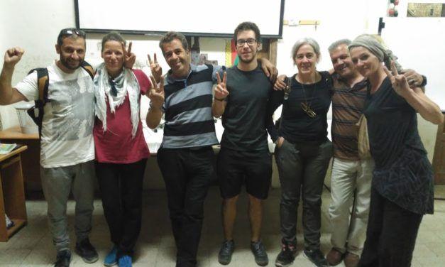 La última tarde en esta tierra. Por la liberación de Dounia Shtaiwi.