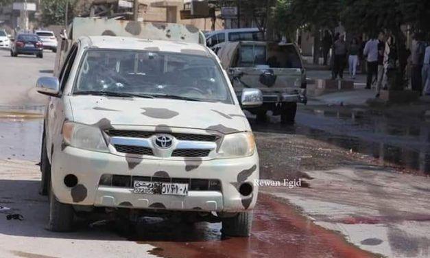 Kurdos de las YPG asesinan a 14 policías sirios en Qamishli.