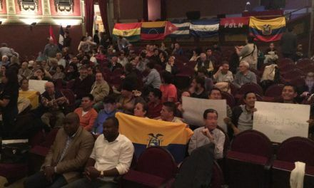 El ALBA en el Punto de Mira: La ternura de los pueblos americanos se dio cita en Madrid.