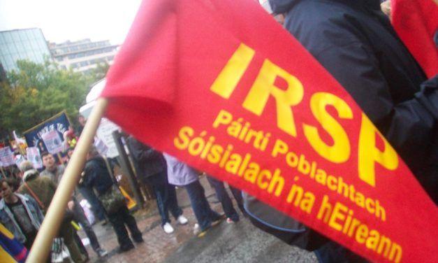 Entrevista al IRSP (Irish Republican Socialist Party).
