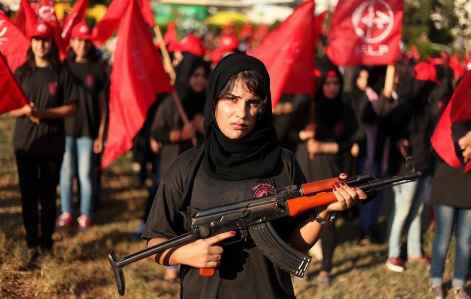 Hablando con Fayez Badawi y el Frente Popular para la Liberación de Palestina.
