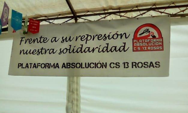 Manifestación en Alcalá de Henares por la absolución de Elena y Jesús