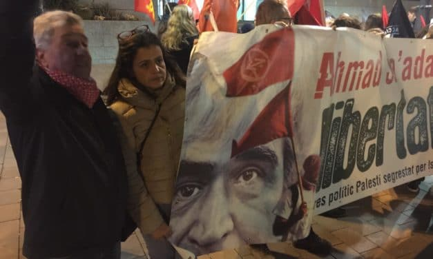 Alicante: Intervención de Fayez Badawi en el acto por la liberación de Ahmad Saadat