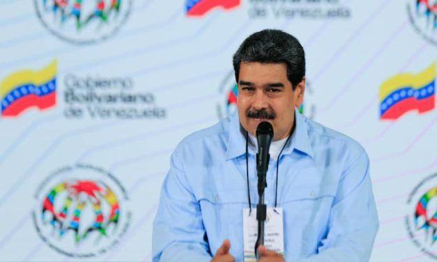 """Maduro a la AIP: """"La solidaridad es la ternura de los pueblos"""""""