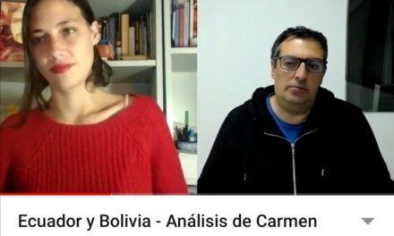 Ecuador y Bolivia – Análisis de Carmen Parejo y Pablo García (Vídeo)