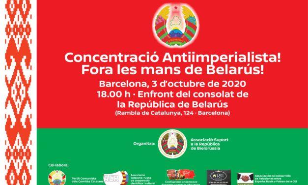 BIELORRUSIA   Concentració Antiimperialista a Barcelona! / Concentración Antiimperialista en Barcelona